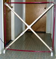 SCHR antenna front view