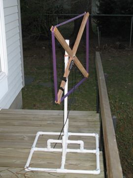 SSHS antenna side view