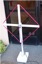 antenna front view