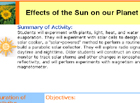 effects of the sun activity thumbnail