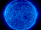 the sun in ultraviolet light